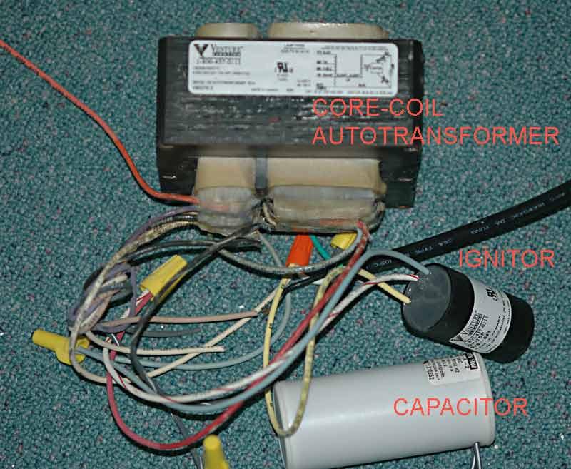 Magnetic Ballast Wiring Advice
